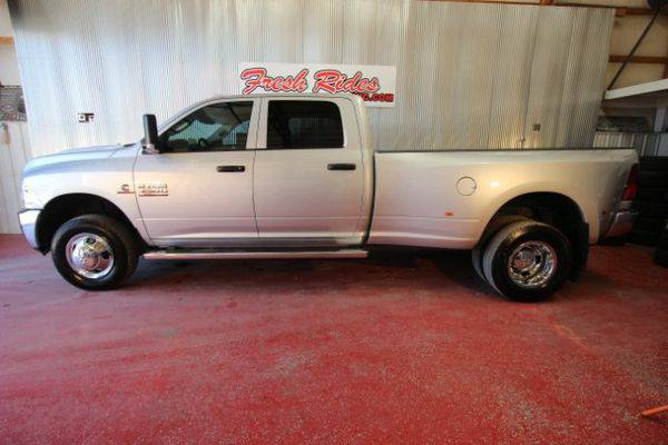 2015 *RAM* *3500* Tradesman Crew Cab 4WD DRW - GET APPROVED TODAY!!!!