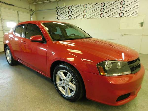 2013 Dodge Avenger Red Great Price**WHAT A DEAL*