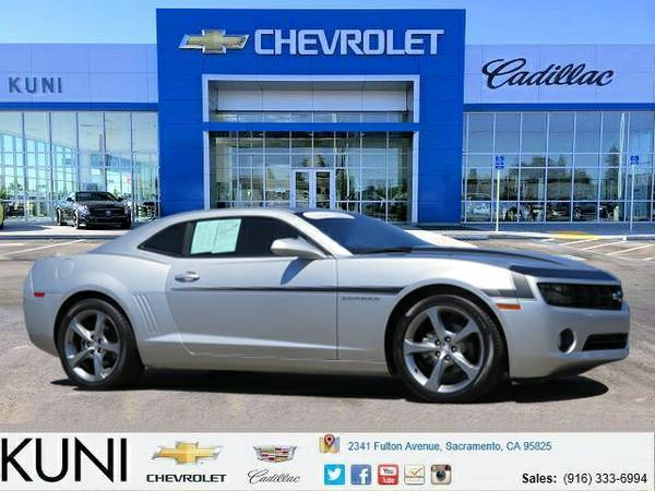 Certified: 2013 Chevrolet Camaro 2D Coupe 2LT low 24,892 miles