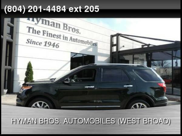 2013 Ford Explorer XLT 4X4 Nav, Pano Roof, Back Up Cam
