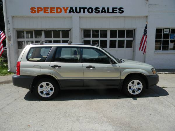 2005 SUBARU FORESTER - ACCIDENT FREE/ONE OWNER!
