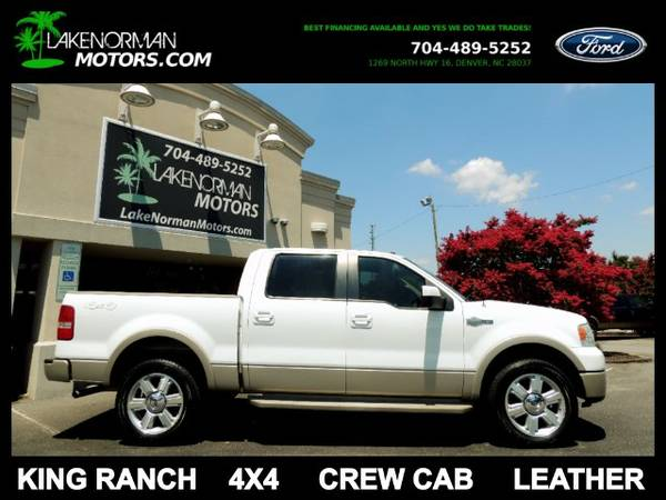 2008 Ford F-150 King Ranch SuperCrew 4WD