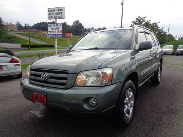 2006 Toyota Highlander AWD- Excellent - 1 Owner - 3rd Row Seat