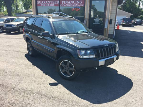 2004 Jeep Grand Cherokee Freedom 6 cyl. Black Loaded Guaranteed Credit