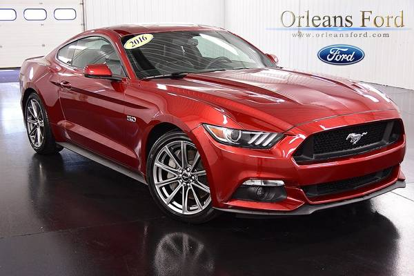 2016 Ford Stock 89727 Mustang 2D Coupe GT Premium