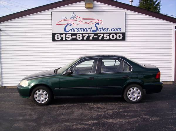 2000 Honda Civic 4DR LX - reliable GAS SAVER - nice ONE OWNER - clean