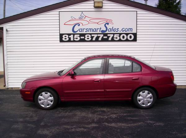 2004 Hyundai Elantra 4DR GLS - clean in and out - LOW MILES - save gas