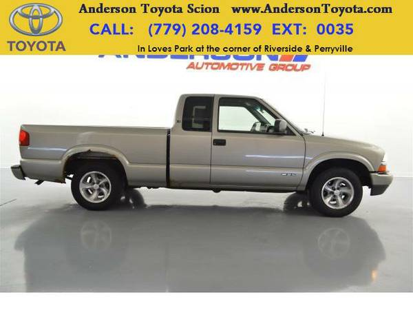 2003 *Chevrolet S-10* LS-Ask about no payments until 2017!