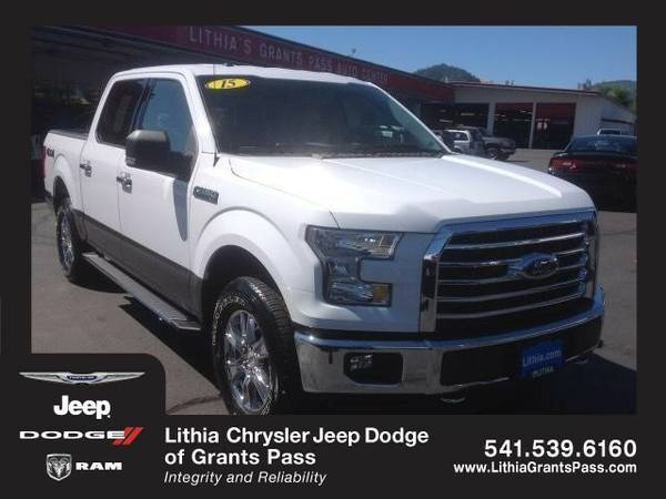 2015 Ford F-150 (You Save $2,627 Below KBB Retail)