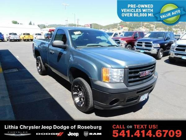 2011 GMC Sierra 1500 WORK TRUCK (You Save $1,027 Below KBB Retail)