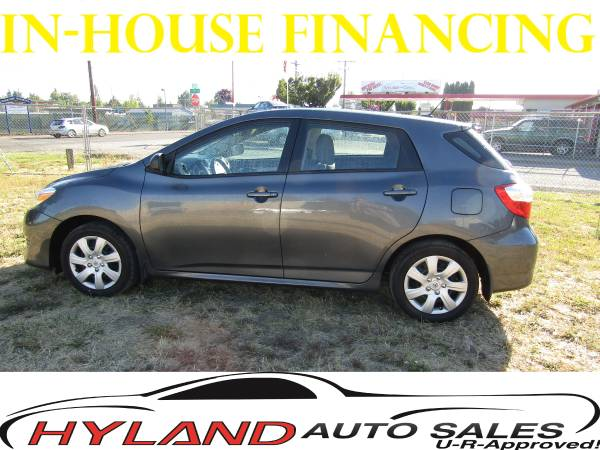 2012 TOYOTA MATRIX SPORT WAGON *U-R APPROVED!! @ HYLAND AUTO SALES*