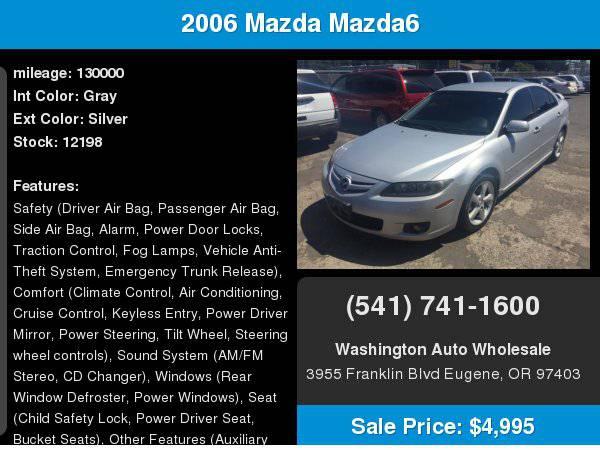 2006 Mazda Mazda6 5dr HB Sport s Auto