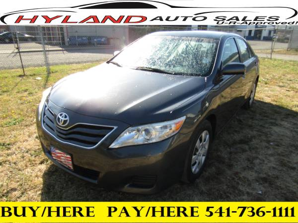 2011 TOYOTA CAMRY LE **U-R APPROVED !! @ HYLAND AUTO SALES