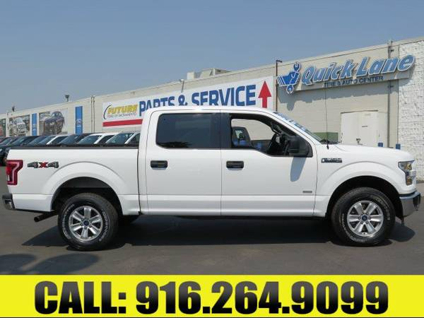 ➲ 2015 Ford F-150 4WD SuperCrew 145 XLT Crew Cab Pickup