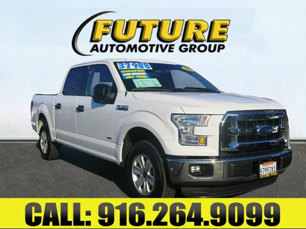 ➲ 2016 Ford F-150 Crew Cab Pickup