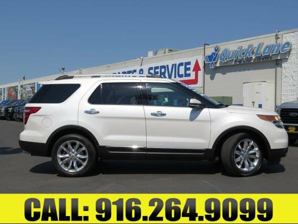 ➲ 2014 Ford Explorer FWD 4dr Limited Sport Utility