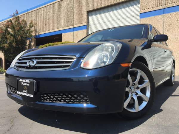 2006 INFINITI G35 SEDAN VERY CLEAN NO ISSUES END OF THE YEAR SALE