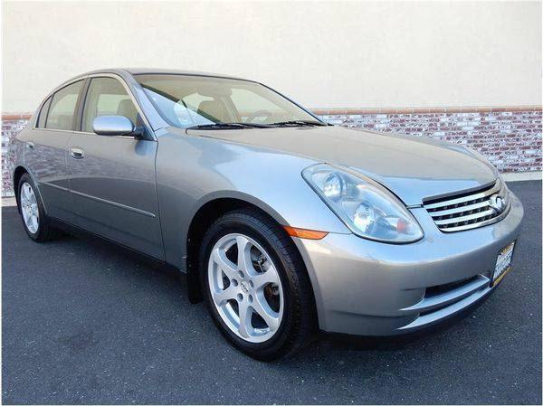 2004 *Infiniti* *G35* Base AWD 4dr Sedan w/Leather - LABOR DAY PRICE...