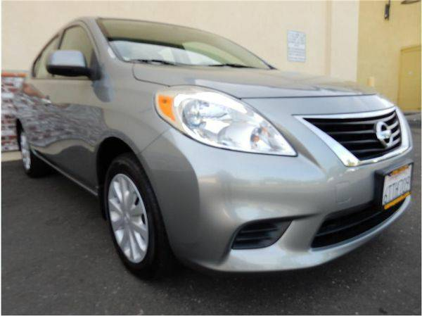 2012 *Nissan* *Versa* S Sedan 4D - LABOR DAY PRICE BLOWOUT!!