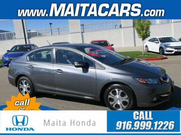 2013 Honda Civic Hybrid 4dr Car