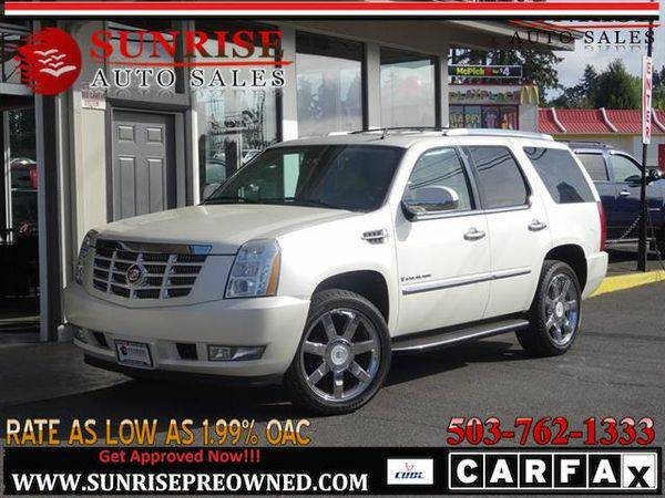 2007 *Cadillac* *Escalade* AWD THIRD ROW NICE ESCALADE!!