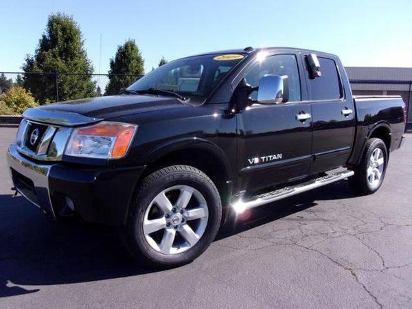 2009 *NISSAN* *TITAN* 4WD CREW CAB SWB - CALL/TEXT 📱