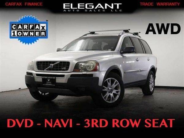 2006 *Volvo* *XC90* DVD AWD NAVI 3RD ROW ONE OWNER 3K IN NEW SERVICES