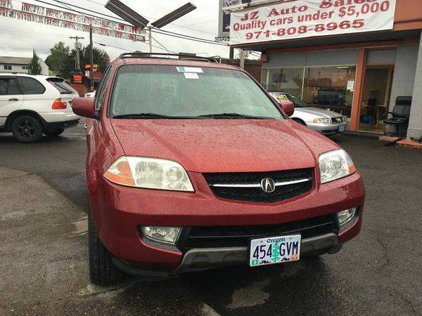 2002 *Acura* *MDX* Base AWD 4dr SUV Financing for ALL! Call
