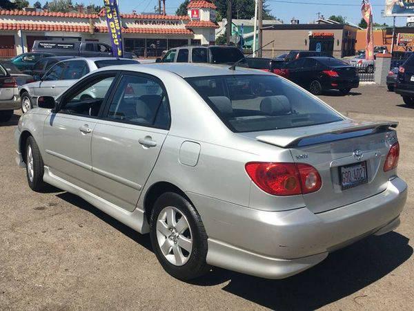 2004 *Toyota* *Corolla* S 4dr Sedan Financing for ALL! Call
