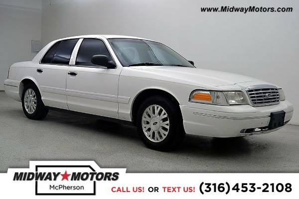 2003 Ford Crown Victoria LX Sedan Crown Victoria Ford