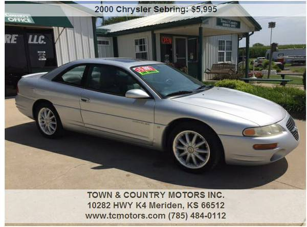 2000 CHRYSLER SEBRING ◆◇◆ 27000 MILES! SUPERB!...