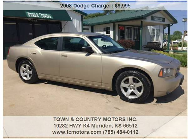 2008 DODGE CHARGER ◆◇◆ 65000 MILES! SUPER CLEAN LOW