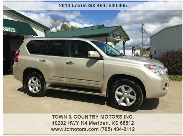 2013 LEXUS GX460 3RD ROW SUV ◆◇◆ 33,000 1OWNER...