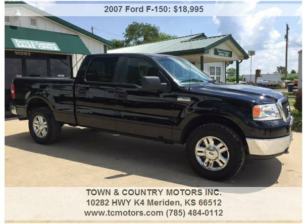 2007 FORD F ◆ 72000 MILES! AWESOME LOW MILEAGE SUPER CLE