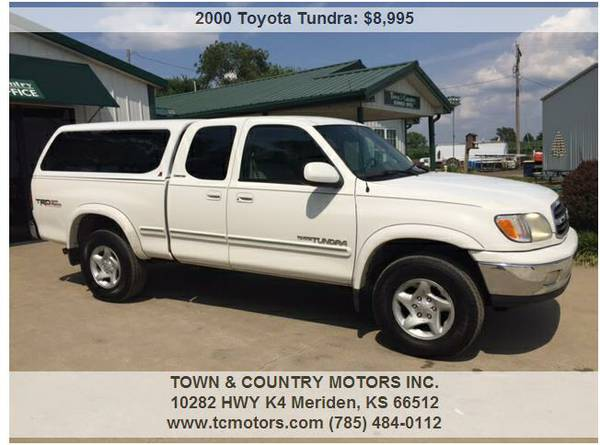 2000 TOYOTA TUNDRA ◆◇◆ 197K MILES! EXTENDED CAB,...