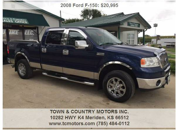 2008 FORD F ◆ 45000 MILES! SUPERCLEAN 4WD SUPERCREW GREA