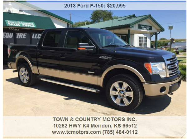 2013 FORD F ◆ 193K MILES! 4WD SUPER CREW GREAT TRUCK!!