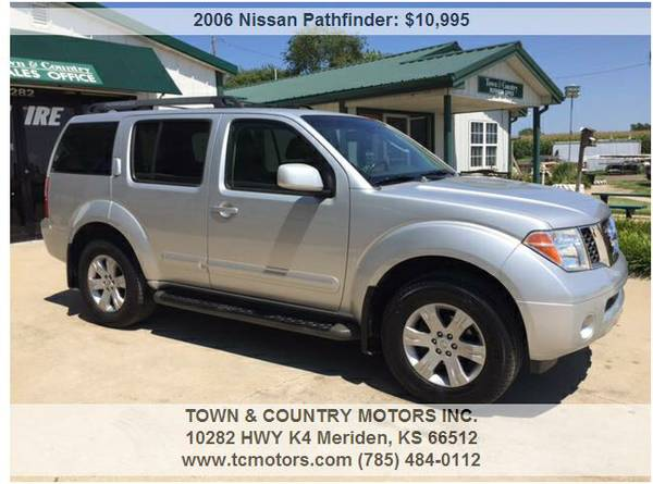 2006 NISSAN PATHFINDER ◆◇◆ 83000 MILES! AWESOME!...