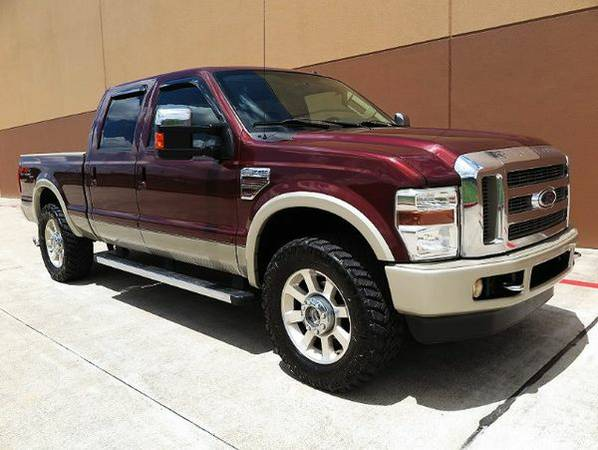 2010 *Ford* *F-250* *SD* King Ranch Crew Cab Short Bed 4WD **GET...