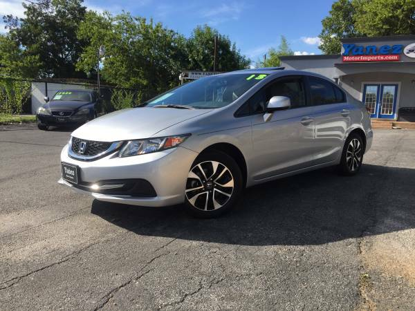 2013 HONDA CIVIC EX 1.8L 4DR______1_OWNER!_____ONLY 14,000 MILES!!!!