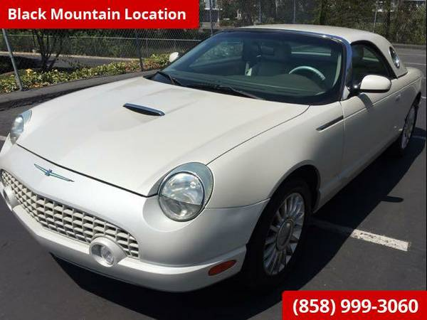 2005 FORD THUNDERBIRD 50TH ANNIVERSARY EDITION CLEAN TITLE & CARFAX LO