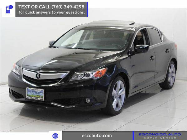 2013 *Acura* *ILX* -☏ CALL OR TEXT FOR PRE-APPROVAL