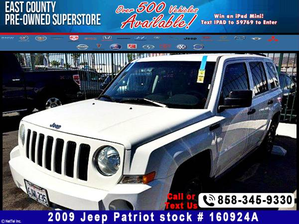 2009 Jeep Patriot Sport Stock #160924A