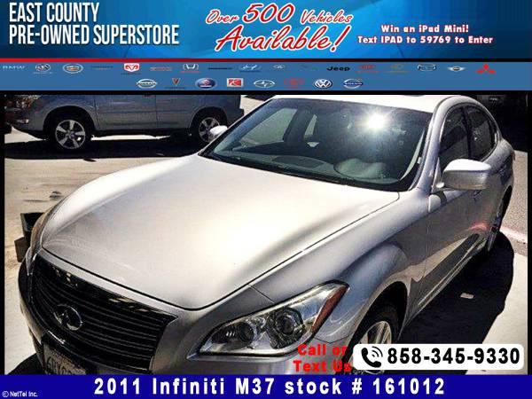 2011 Infiniti M37 BASE Stock #161012