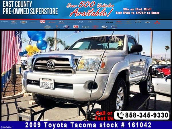2009 Toyota Tacoma PreRunner Stock #161042
