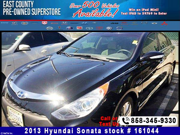 2013 Hyundai Sonata Hybrid Limited Stock #161044
