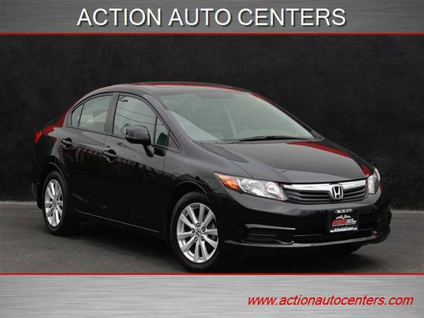 2012 HONDA CIVIC EX-L **CLEAN CARFAX**