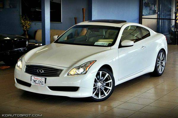 2010 *Infiniti* *G37* *Coupe* 2dr Coupe