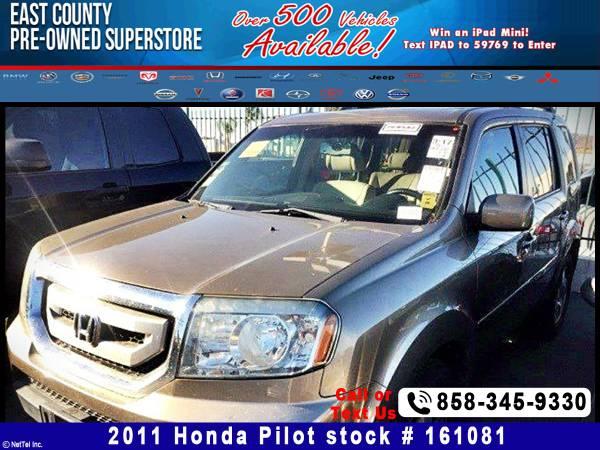 2011 Honda Pilot EX-L Stock #161081
