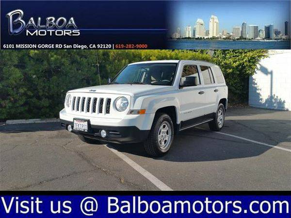 2012 *Jeep* *Patriot* Sport - FREE 6 MOS/6,000 MILE WARRANTY!